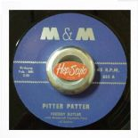 "45Re ✦ FREDDIE BUTLER ✦ ""Pitter Patter / Boogie Twist"" Great New Breed Pounder ♫"